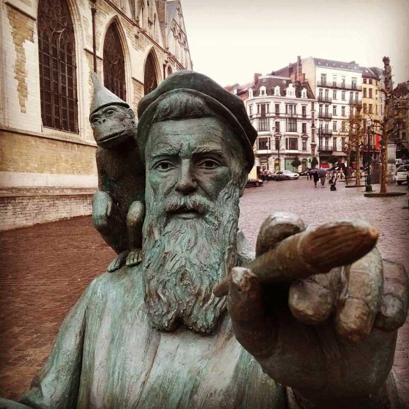 pintor que pintas| tour privado por bruselas