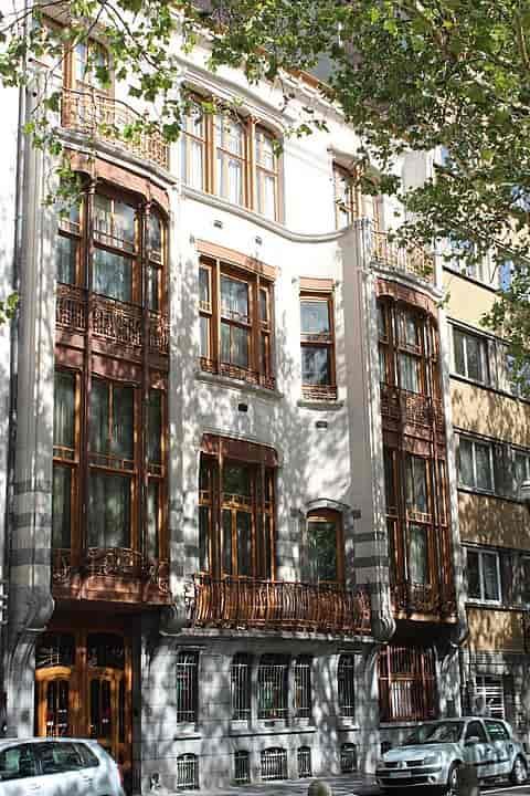 Arquitectura art nouveau Bruselas