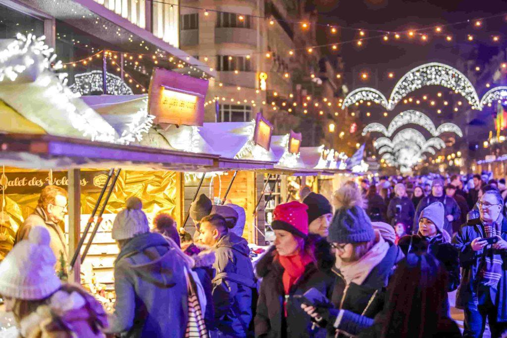 Visitar Mercadillos de Bruselas en Navidad